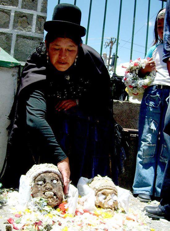 Ñatitas, el día de muertos en Bolivia (1)