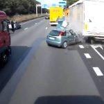 Video: Terrible accidente automovilístico en Bélgica + VIDEOS