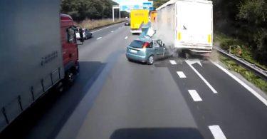 accidente automovilístico en Bélgica