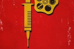 El alfabeto del cine en carteles minimalistas
