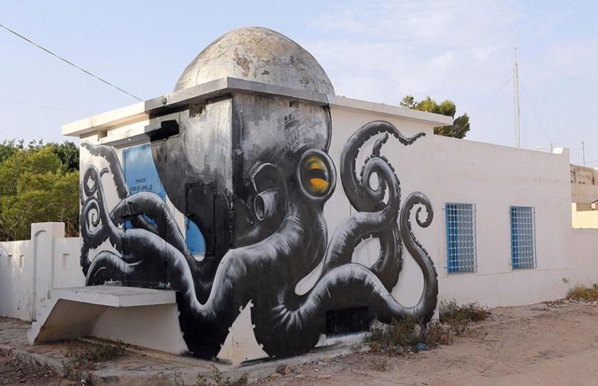 Djerbahood arte urbano túnez (9)