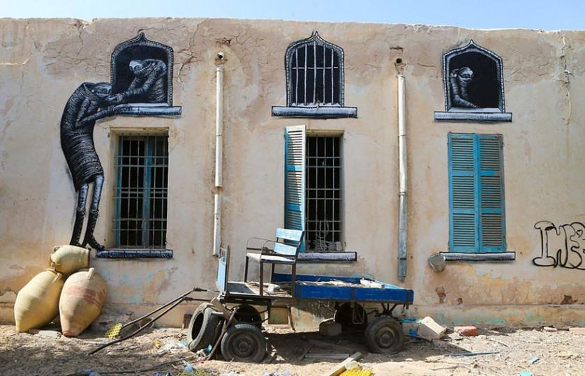 Djerbahood arte urbano túnez (4)