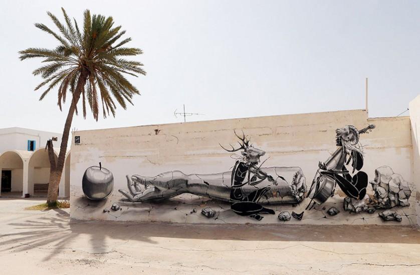 Djerbahood arte urbano túnez (3)