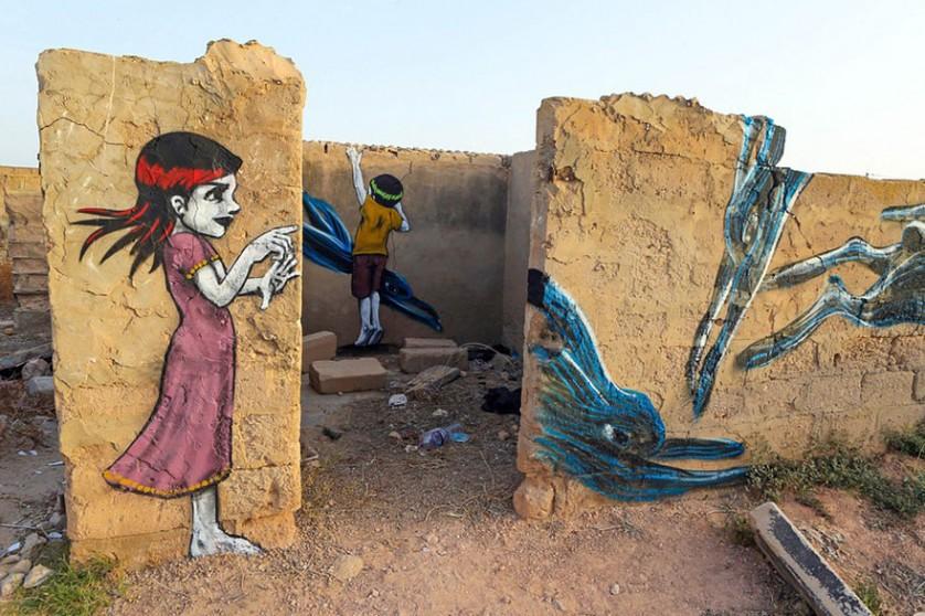 Djerbahood arte urbano túnez (2)