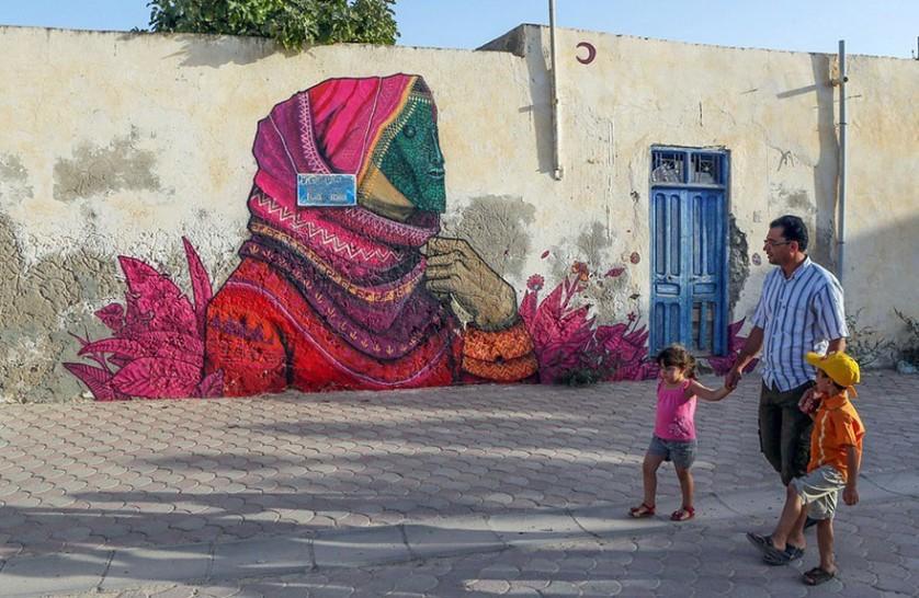 Djerbahood arte urbano túnez (17)