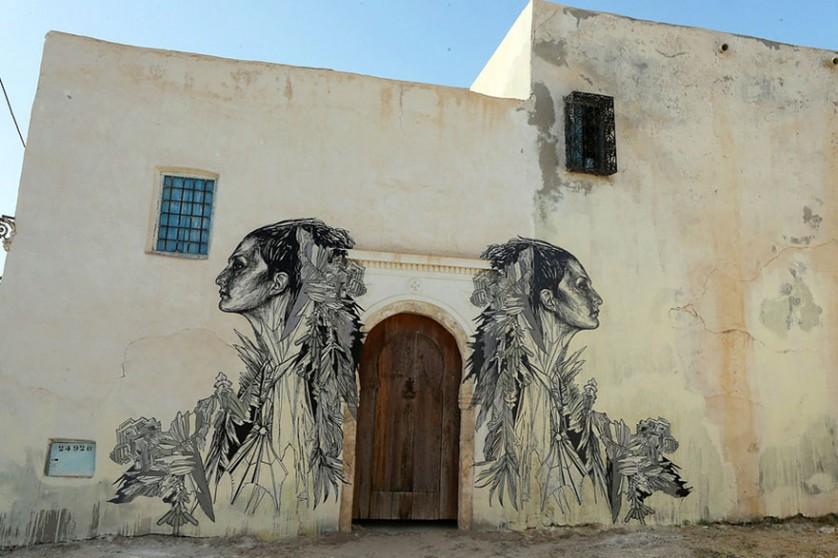 Djerbahood arte urbano túnez (16)