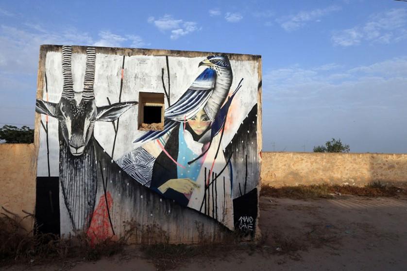Djerbahood arte urbano túnez (14)