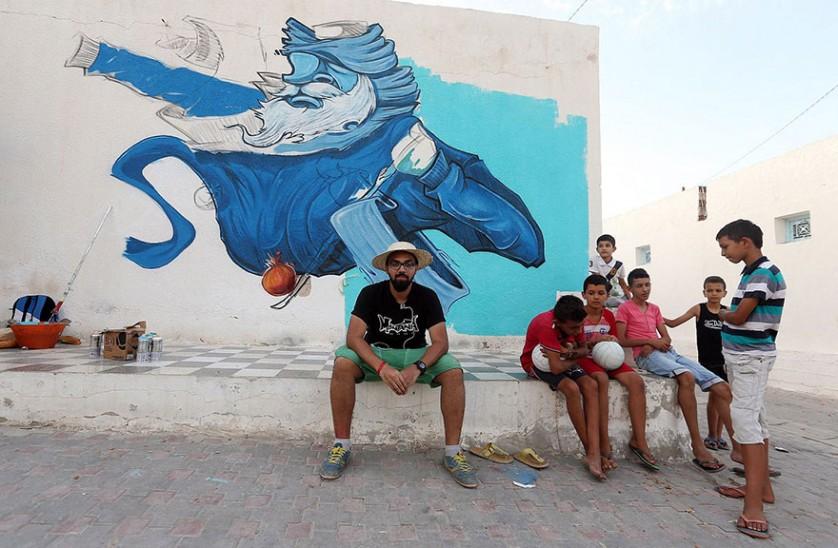 Djerbahood arte urbano túnez (12)
