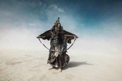 Fotografías surrealistas del festival Burning Man de este año