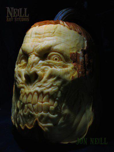 esculturas con calabazas por Jon Neil (1)