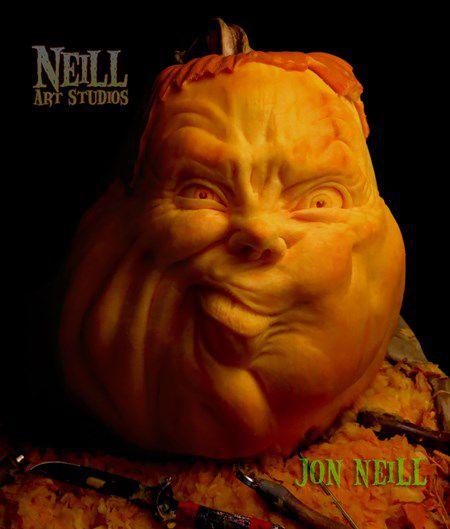 esculturas con calabazas por Jon Neil (3)