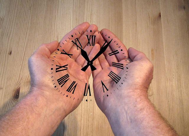 reloj manos