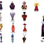 Frascos de perfumes inspirados en los villanos de Disney