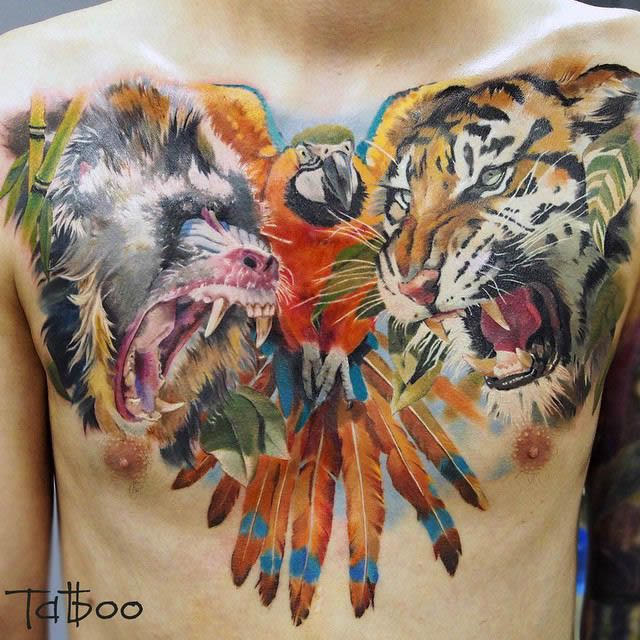 Tatuaje hiperrealista (54)