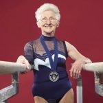La gimnasta más vieja del mundo, a sus 88 años conserva el amor por su profesión
