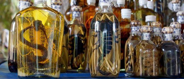 bebidas raras y bebidas siniestras
