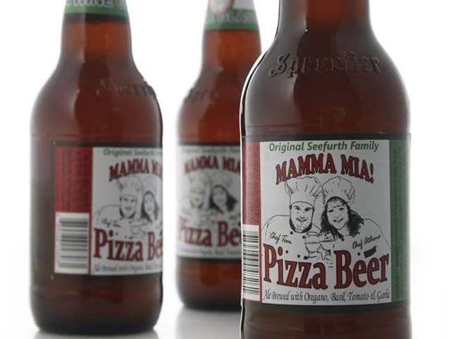 pizaa beer