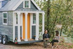 Casas en miniatura hechas a medida, espacios compactos de lujo sobre ruedas