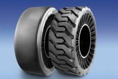 Llanta sin aire de Michelin, toda una maravilla de ingeniería