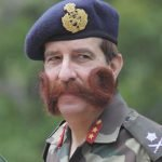 Los codiciados bigotes británicos de la Segunda Guerra Mundial
