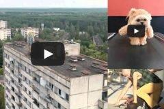 Un drone y un video increíble de Chernóbil + VIDEOS