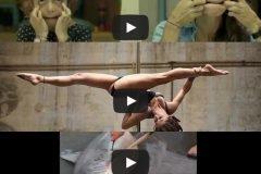 Karo Swen, una de las mejores bailarinas de pole dance del mundo + VIDEOS