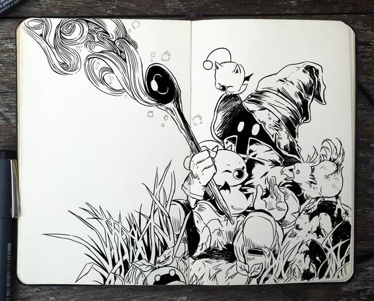 365 Days Of Doodles Gabriel Picolo (12)