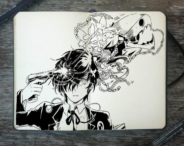 365 Days Of Doodles Gabriel Picolo (2)