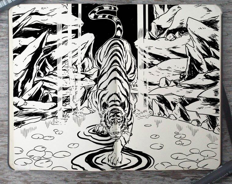 365 Days Of Doodles Gabriel Picolo (20)