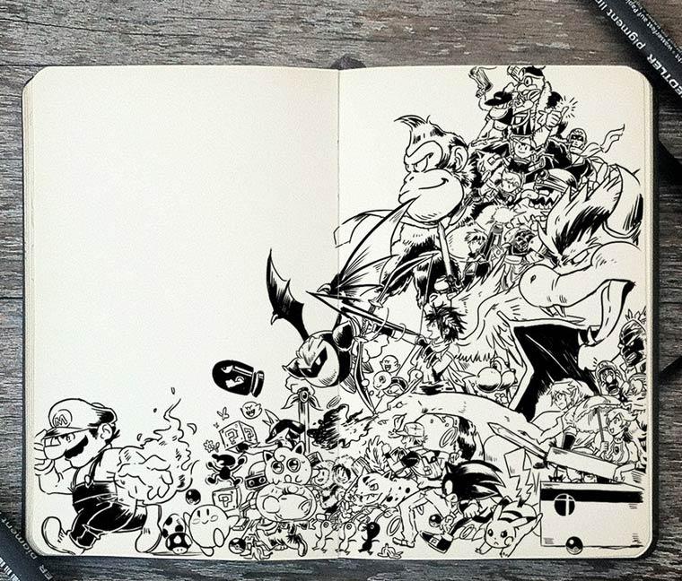 365 Days Of Doodles Gabriel Picolo (21)