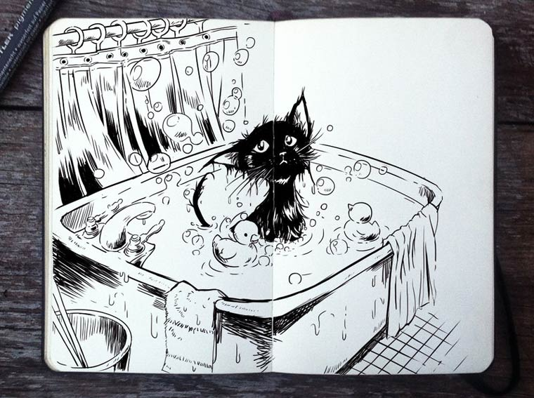 365 Days Of Doodles Gabriel Picolo (22)