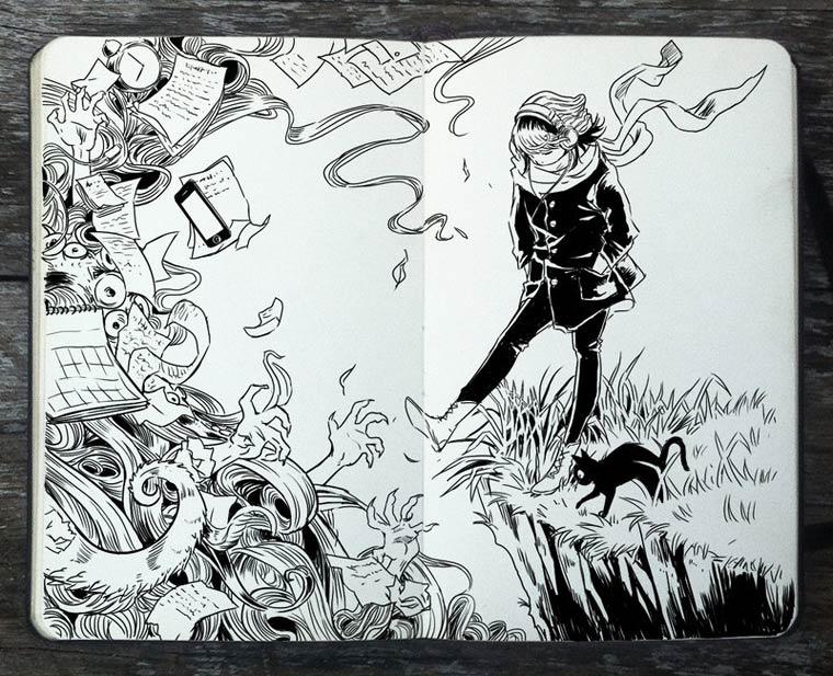 365 Days Of Doodles Gabriel Picolo (25)