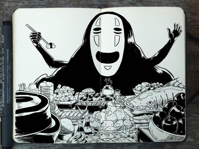 365 Days Of Doodles Gabriel Picolo (27)