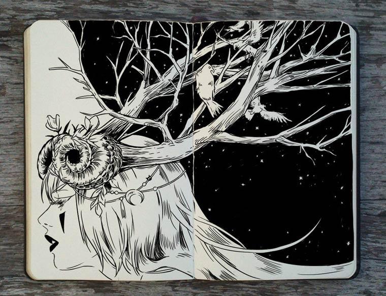 365 Days Of Doodles Gabriel Picolo (28)