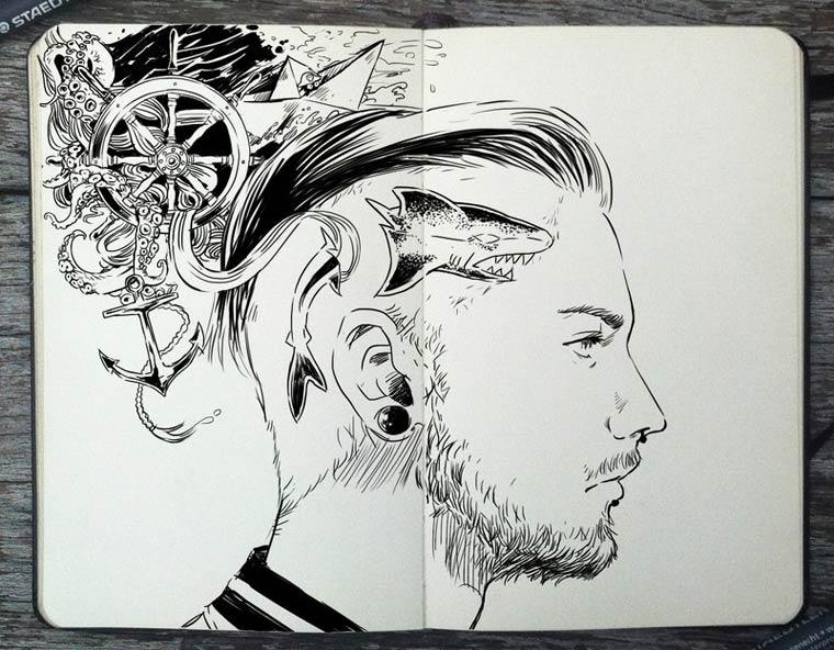 365 Days Of Doodles Gabriel Picolo (29)