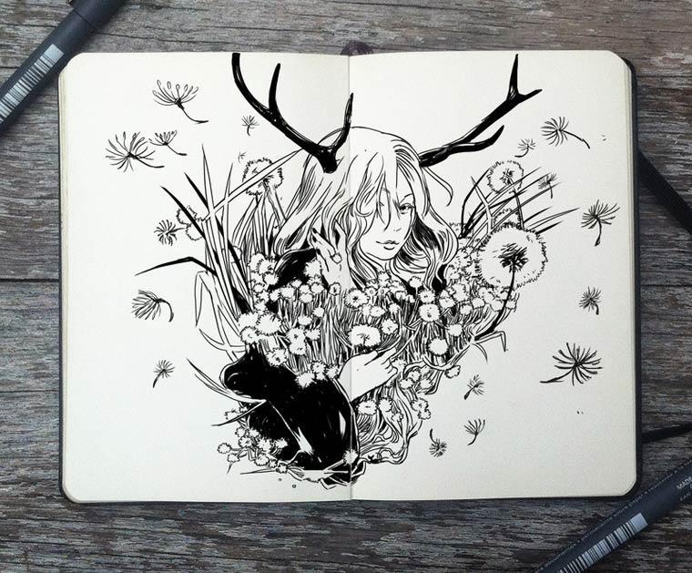 365 Days Of Doodles Gabriel Picolo (3)