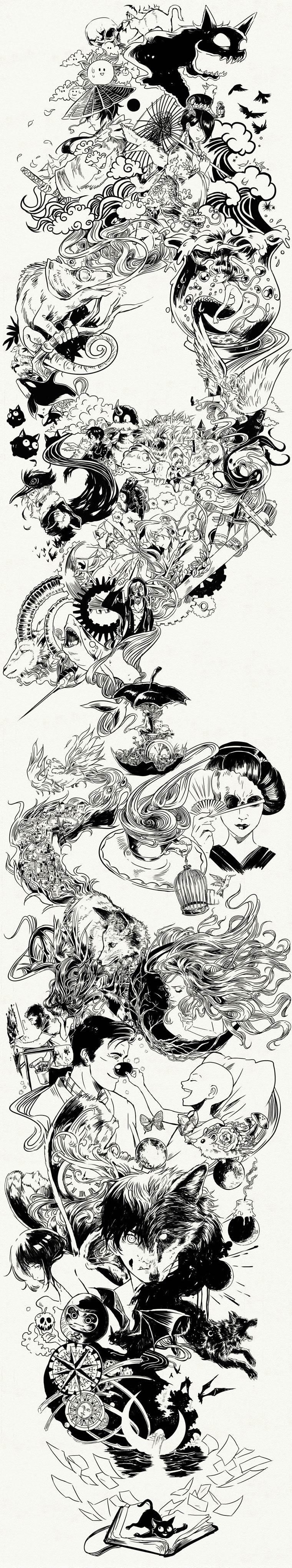 365 Days Of Doodles Gabriel Picolo (33)