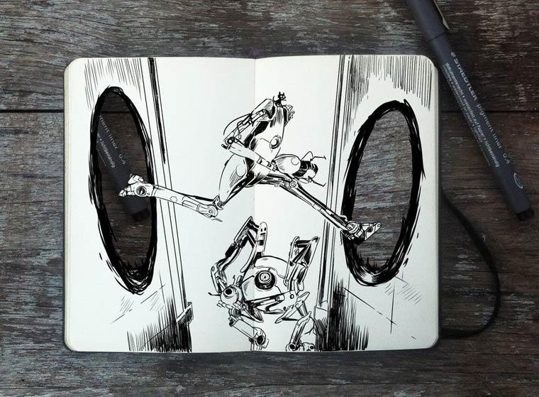 365 Days Of Doodles Gabriel Picolo (35)