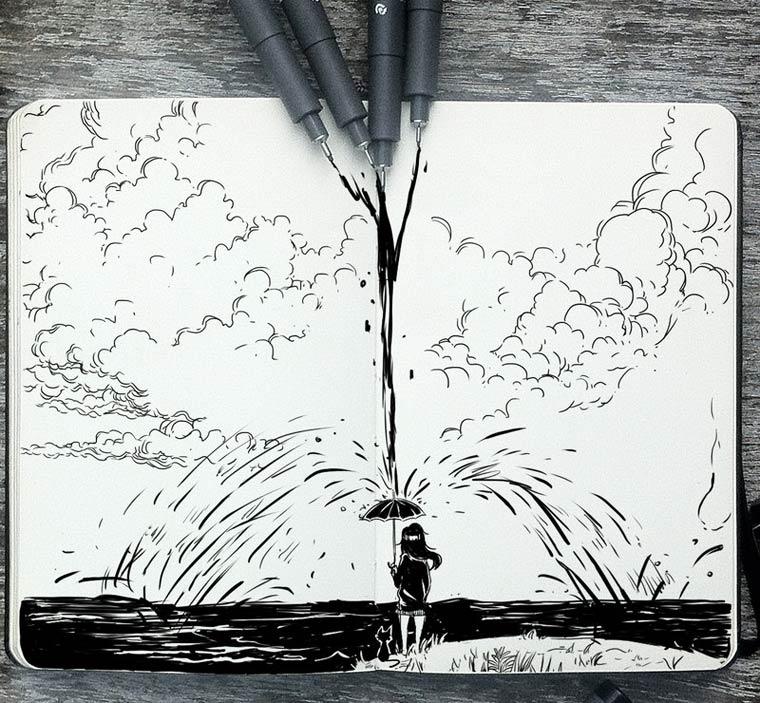 365 Days Of Doodles Gabriel Picolo (4)