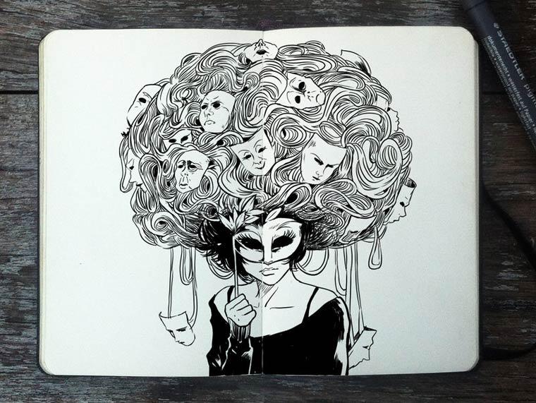 365 Days Of Doodles Gabriel Picolo (6)