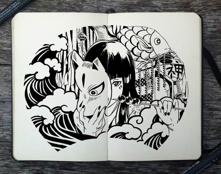 365 Days Of Doodles Gabriel Picolo (7)