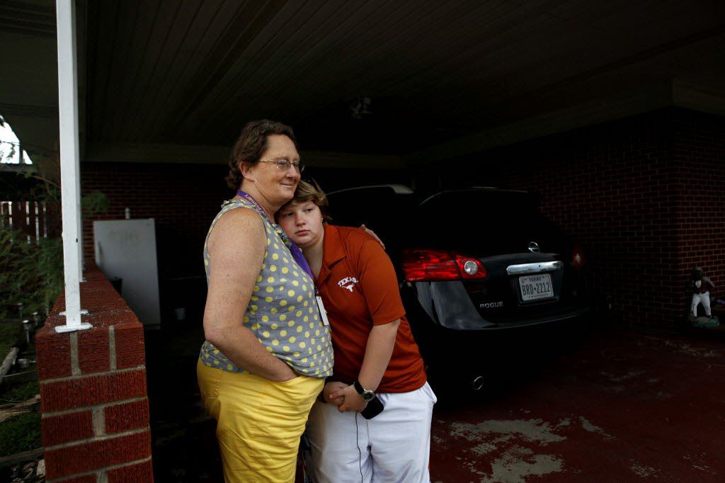 Lauren Kavanaugh y su madre adoptiva