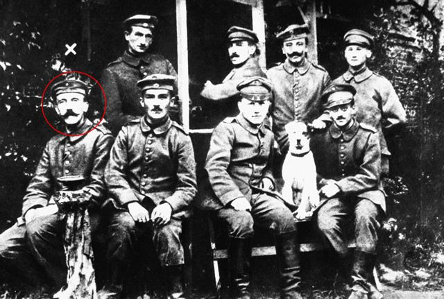 Hitler primera guerra mundial