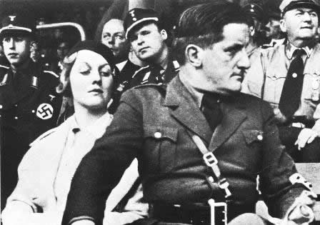 Putzi Hanfstaengl Diana Mitford 1934