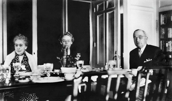 Truman y su suegra