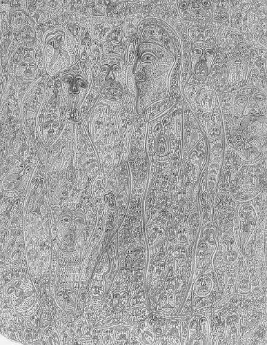 17 Obras de arte creadas por enfermos de Ezquisofrenía