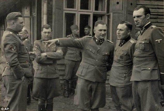 oficiales alemanes nazi