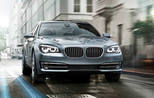 BMW 750 Li blindado
