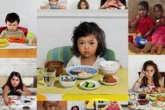 El desayuno de los niños en diversas partes del mundo