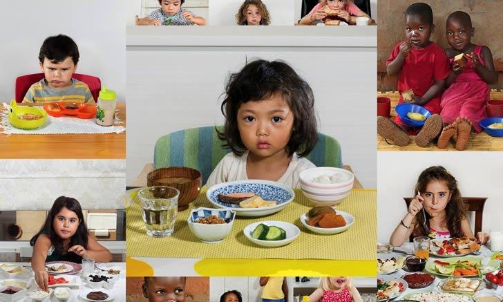 Desayunos Niños Mundo